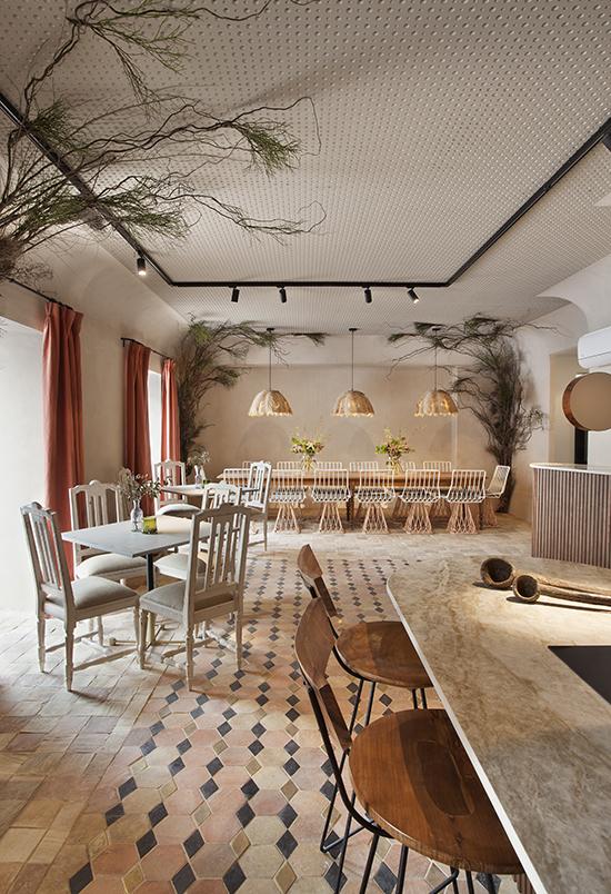 casa decor 20 restaurante frigicoll tristan domecq 02 - Casa Decor 2020 apuesta por los materiales orgánicos como tendencia en decoración