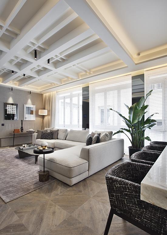 casa decor 20 salon comedor cocina hager disak studio 02 - Casa Decor 2020 apuesta por los materiales orgánicos como tendencia en decoración