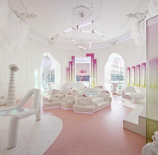 casa decor 20 spa hansgrohe patricia bustos 01 - Casa Decor 2020 apuesta por los materiales orgánicos como tendencia en decoración