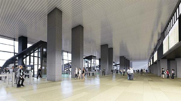 chama. interior01 - El ganador de un concurso diseñará la nueva estación de Chamartín
