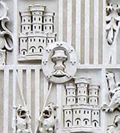 """escudo 002 copia 1 - Palacio de Cibeles: la """"firma"""" escondida del arquitecto gallego"""