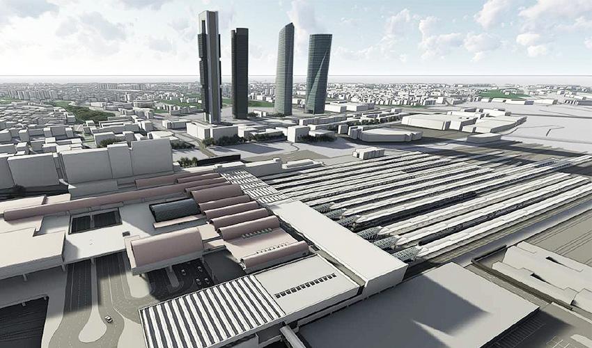 El ganador de un concurso diseñará la nueva estación de Chamartín