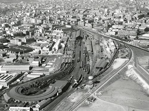 1961 - Exposición: 140 años de la inauguración de la estación de Delicias