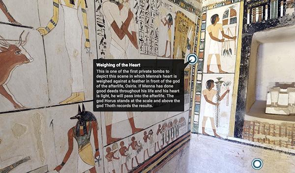 Menna 1 - Entra desde tu casa en las pirámides de Egipto