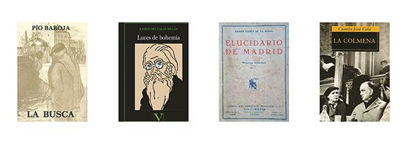libros 01 - 8 buenos libros que hablan sobre Madrid