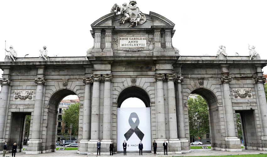 Madrid de luto