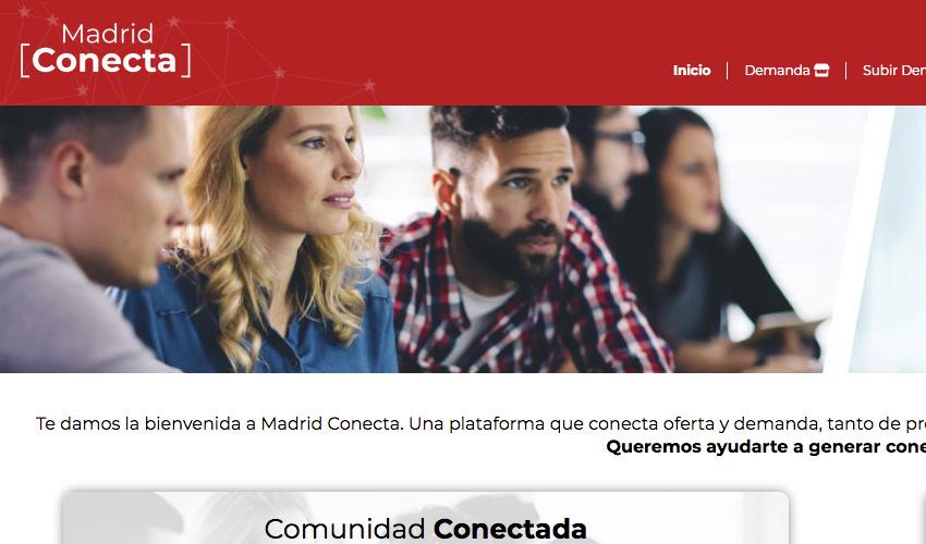 La Comunidad de Madrid crea una plataforma para el intercambio de productos y servicios entre pymes y autónomos