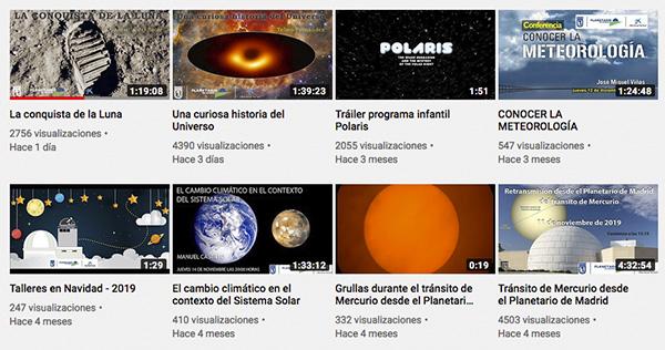 planetario 01 - La conquista de la Luna o la historia del Universo en el Planetario