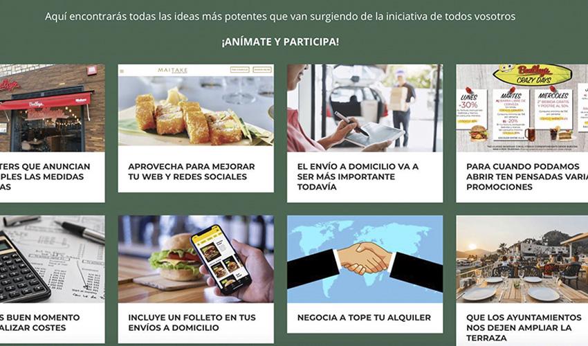 """""""Salvemos la hostelería"""": un proyecto para compartir ideas y soluciones"""