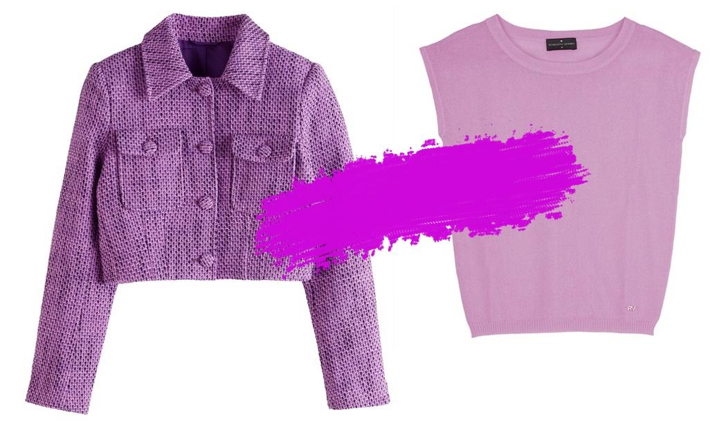 Esta primavera, uno de los colores de tu armario va a ser el lavanda
