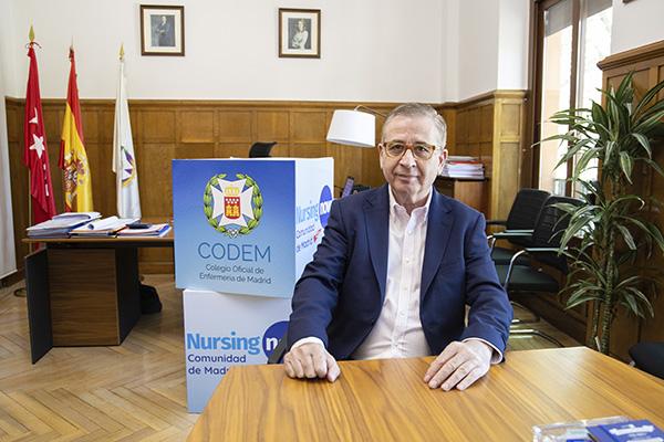 """Jorge Andrada 3 - Jorge Andrada: """"Se han infringido las normas de protección de seguridad y salud de las enfermeras madrileñas"""""""