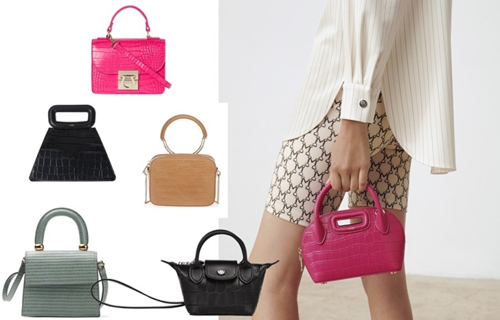 Maje - Mini bolsos, ¿útiles o simple postureo?