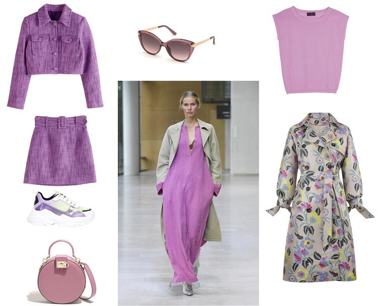 Samsoe Samsoe  - Esta primavera, uno de los colores de tu armario va a ser el lavanda
