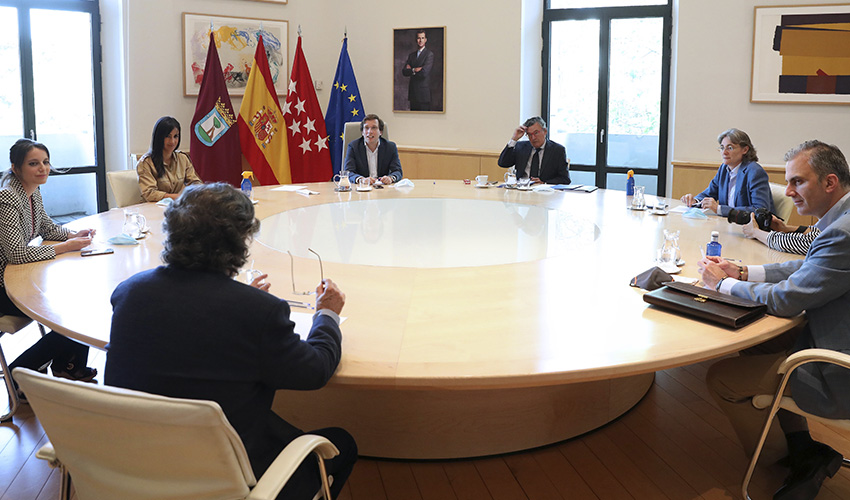 Unidos en busca de soluciones para Madrid