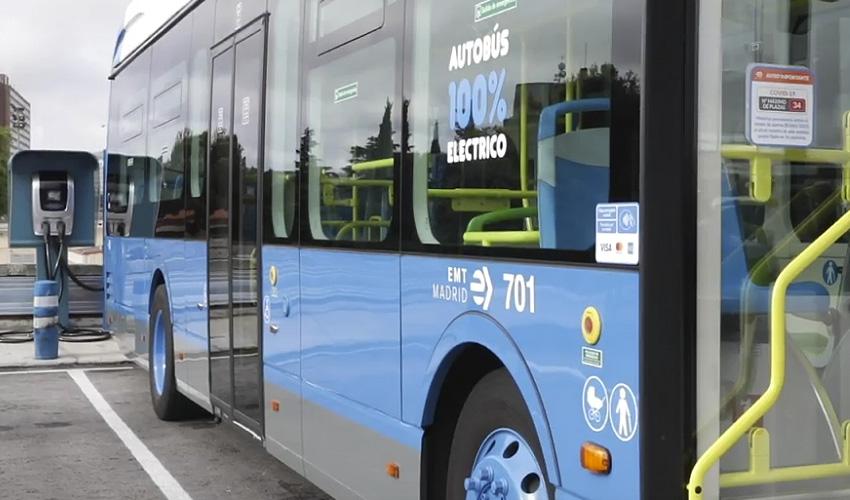 15 nuevos autobuses eléctricos para la flota de la EMT