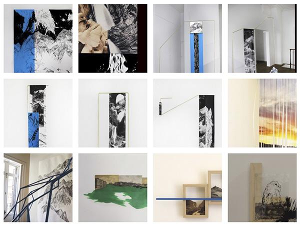 """cuadros de françoise - Françoise Vanneraud: """"Mi obra quiere llevar al espectador a la exploración, a la escalada"""""""