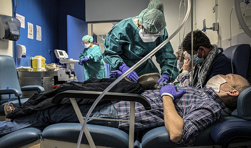 """Jorge Andrada: """"Se han infringido las normas de protección de seguridad y salud de las enfermeras madrileñas"""""""