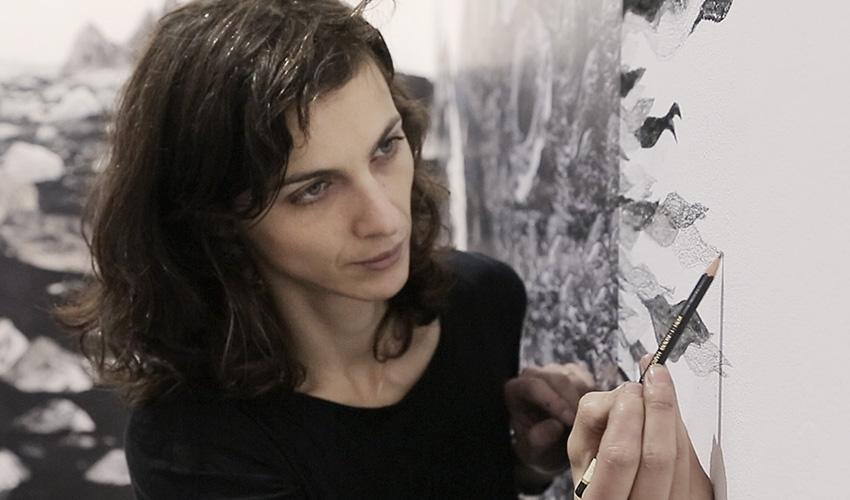 """Françoise Vanneraud: """"Mi obra quiere llevar al espectador a la exploración, a la escalada"""""""
