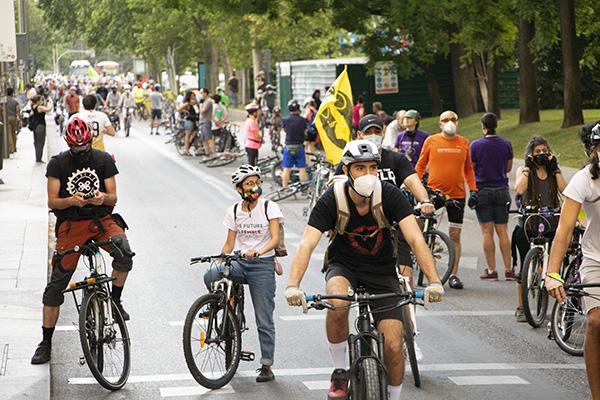carril bici 3 ok - Asociaciones ciclistas piden un carril bici en La Castellana