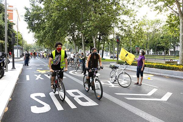 carril bici 3.1 - Asociaciones ciclistas piden un carril bici en La Castellana