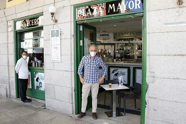 plaza mayor. Presidente Jose Antonio Bar Plaza Mayor - Es el momento de reconciliarse con la Plaza Mayor de Madrid
