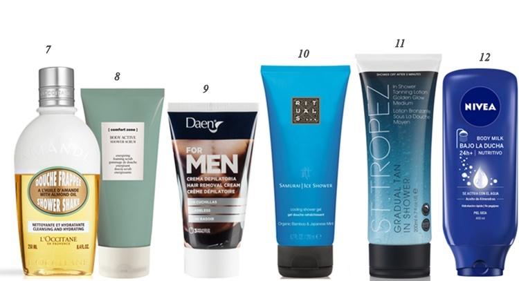 productos bajo la ducha 2 - Todos los productos de belleza que puedes usar bajo la ducha
