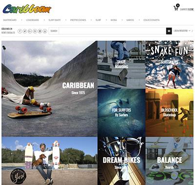 web de caribbean skate - Caribbean: la historia de la tienda que trajo el monopatín a Madrid