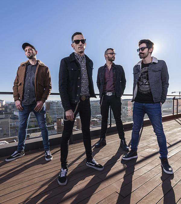 """Desvariados azotea Madrid - Desvariados: """"El Rock debe ser vía de escape y diversión, pero también despertar"""""""