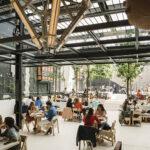 Restaurante Mo de movimiento: una bandera ecofriendly, sorprendente y sin complejos