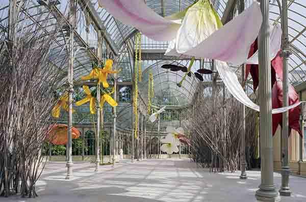 PETRIT HALILAJ Vista de sala 05 - El imaginario del artista Halilaj invade el Palacio de Cristal
