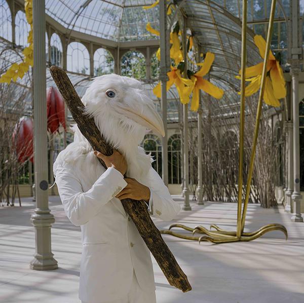 PETRIT HALILAJ Vista de sala 11 - El imaginario del artista Halilaj invade el Palacio de Cristal