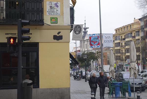 """nean arte urbano 04 Madrid - """"No me esperaba tanta repercusión"""" Entrevista con el artista urbano responsable del mosaico de Lavapiés"""