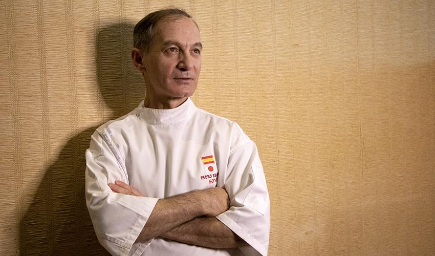 """Itamae Pedro Espina: """"No cocino, siento y lo plasmo en mi sushi"""""""