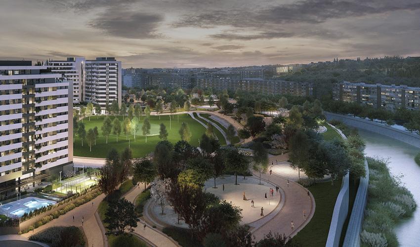 Así se ha demolido en Vicente Calderón y así es el proyecto de viviendas