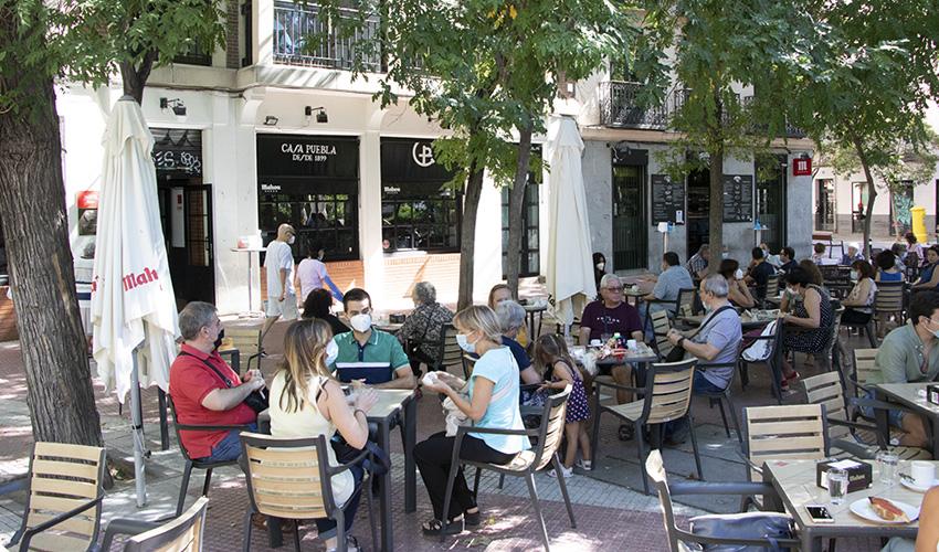Tapas castizas en los bares de la Plaza de Olavide