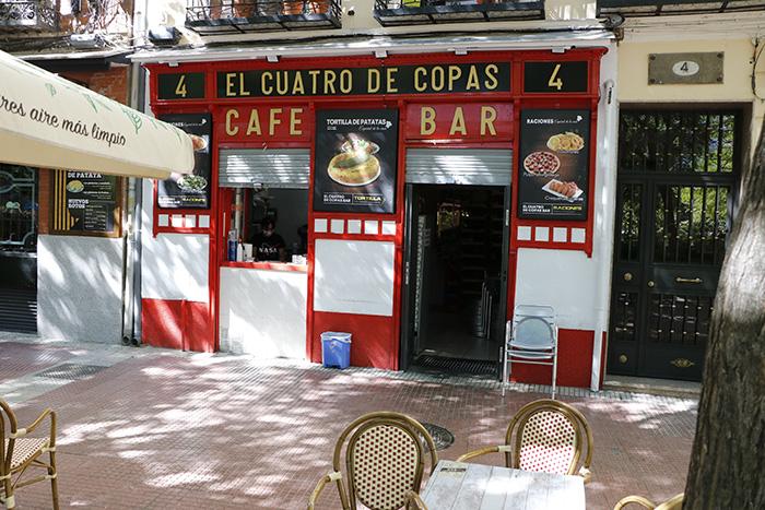 el cuatro de copas - Tapas castizas en los bares de la Plaza de Olavide