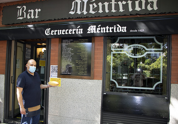 mentrida - Tapas castizas en los bares de la Plaza de Olavide