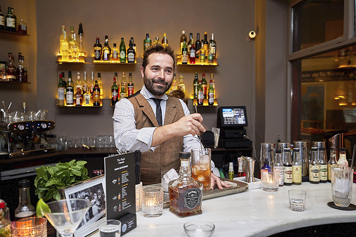 Borja Cortina en The Dash - Madrid Cocktail Week, la hora de brindar por nuestros bares