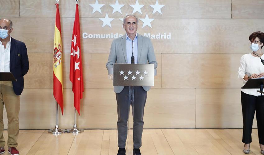 Reuniones de un máximo de 10 personas desde el lunes en Madrid