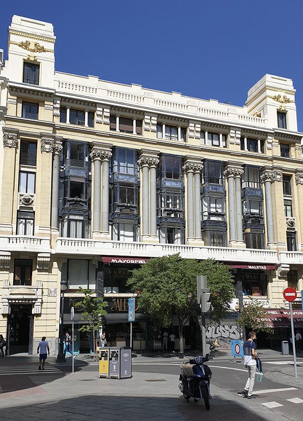 Casa Palazuelo Madrid - El primer edificio comercial de madrid conserva todo su atractivo