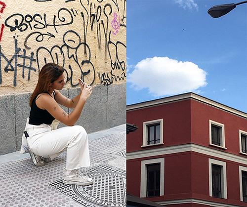 Cris ARte foto Malasaña - Cris o la realidad de una generación de jóvenes artistas de Madrid