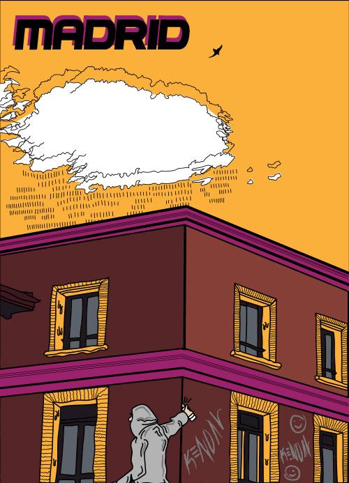 Cris Obra arte Madrid para PLÁCET - Cris o la realidad de una generación de jóvenes artistas de Madrid