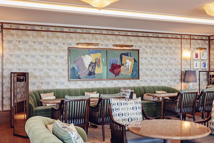 Dani Brasserie. Lounge 2 ©Óscar Romero - El chef Dani García abre nuevo restaurante en el recién inaugurado Four Seasons Hotel Madrid