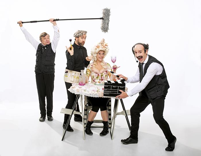Gag Movie Polvoron Teatro Alfil Yllana - Vuelve Yllana al Teatro Alfil con un divertido homenaje al cine