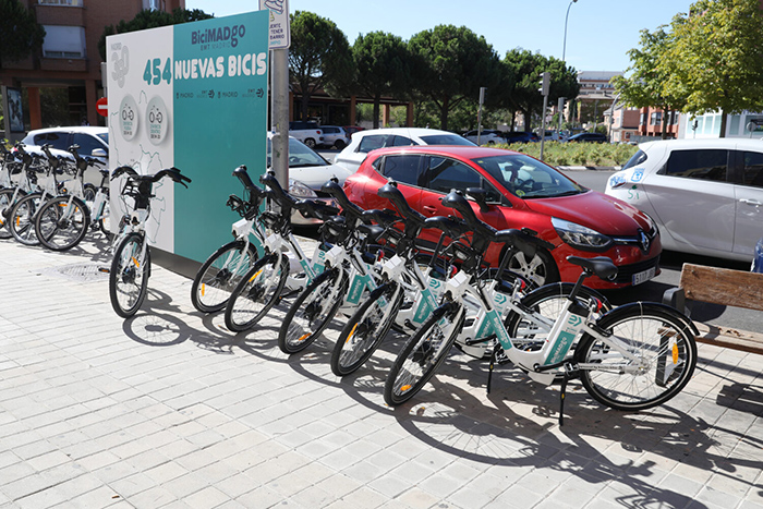 bicimadgo Madrid - 454 bicicletas eléctricas más para Madrid sin base fija