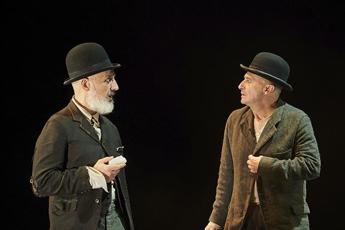 "esperando a Godot Madrid1 - Teatro: ""Esperando a Godot"", cuando la sonrisa esconde la desesperanza"
