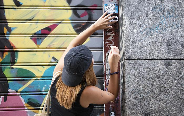 grafiti Madrid - Cris o la realidad de una generación de jóvenes artistas de Madrid