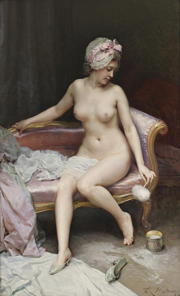 """Después del baño Desnudo de mujer - Una exposición del Museo del Prado indaga sobre la mujer """"como invitada incómoda"""" en el arte del siglo XIX"""