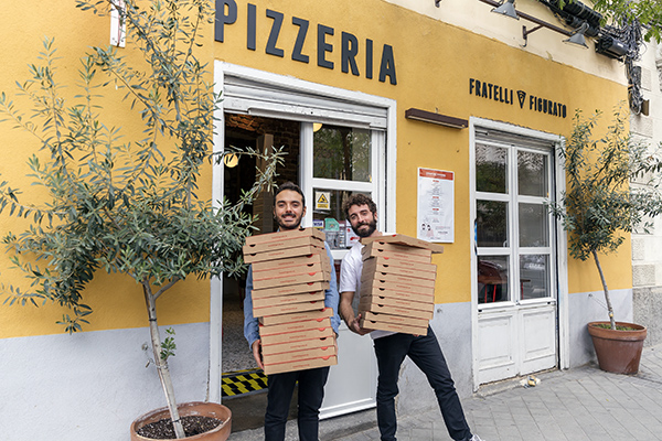 Fratelli Figurato Riccardo y Vittorio 2 - La mejor pizzeria de España está en Madrid