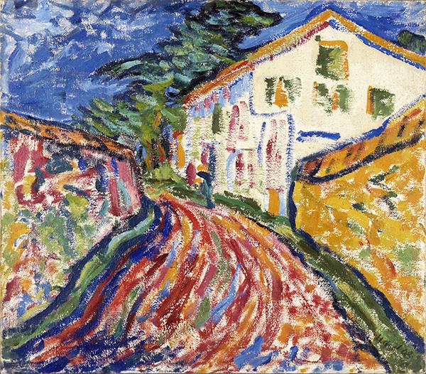 Heckel Casa en Dangast - Exposición: Expresionismo alemán en el Thyssen